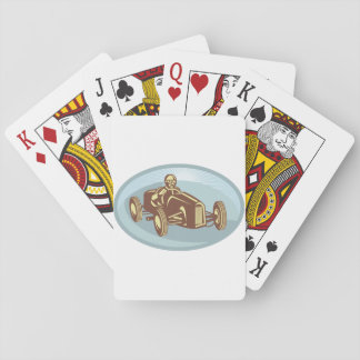 Soap Box Derby Car Playing Cards