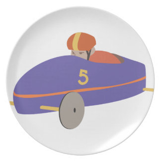 Soap Box Derby Dinner Plate