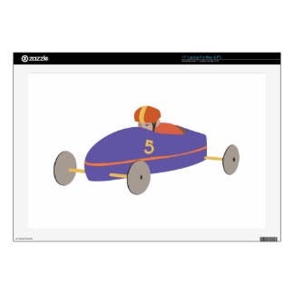 Soap Box Derby Laptop Decal