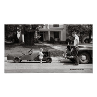 Soap Box Derby Racer Poster