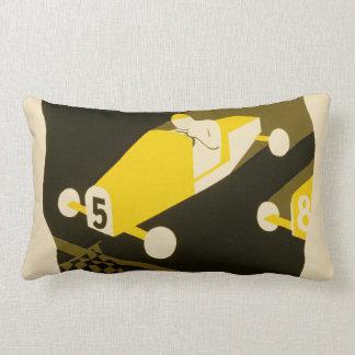 Soap Box Derby WPA Poster Throw Pillows