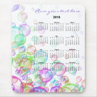 Soap Bubbles 2018 Mouse Pad
