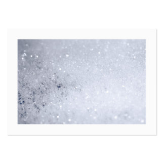 Soap Bubbles (Bordered) Large Business Card