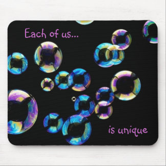 soap bubbles by tdgallery mouse pad