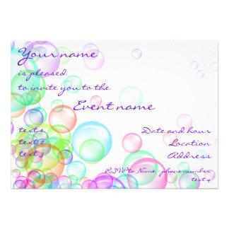 Soap Bubbles Custom Announcement