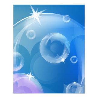 Soap bubbles flyer