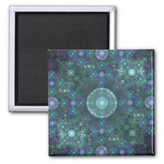 """""""Soap Bubbles"""" Fractal Art Magnet"""