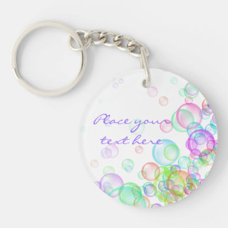 Soap Bubbles Keychain
