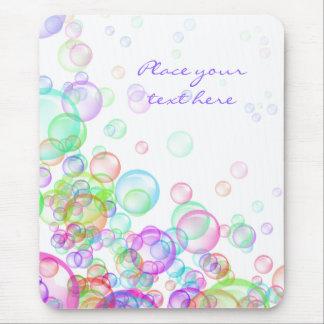 Soap Bubbles Mouse Pad