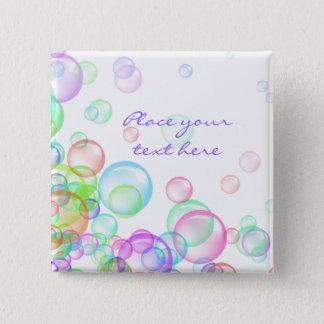 Soap Bubbles Pinback Button