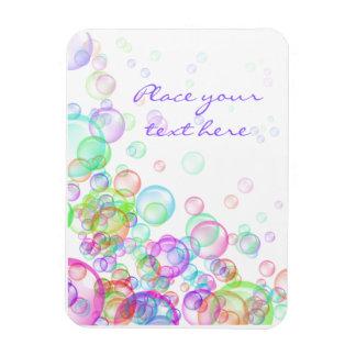 Soap Bubbles Rectangular Magnet