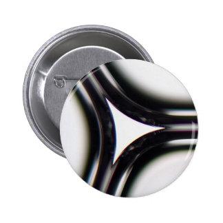 Soap bubbles under a microscope 2 inch round button