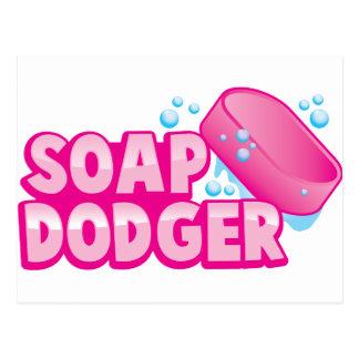 SOAP DODGER POSTCARD