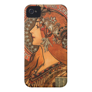Soap factory of Bagnolet - Alphonse Mucha Blackberry Cases