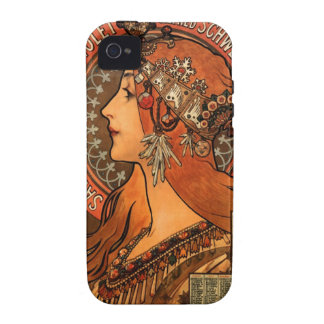 Soap factory of Bagnolet - Alphonse Mucha Case-Mate iPhone 4 Case