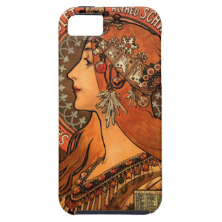 Soap factory of Bagnolet - Alphonse Mucha iPhone 5 Cases
