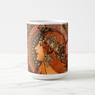 Soap factory of Bagnolet - Alphonse Mucha Coffee Mug