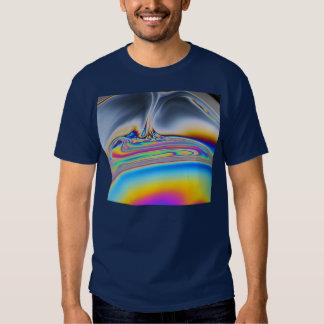 Soap film macro photo shirt
