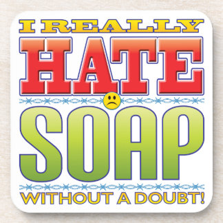 Soap Hate Face Drink Coasters