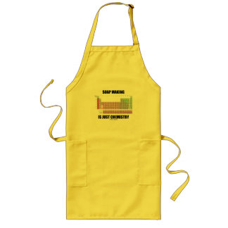 Soap Making Is Just Chemistry Long Apron