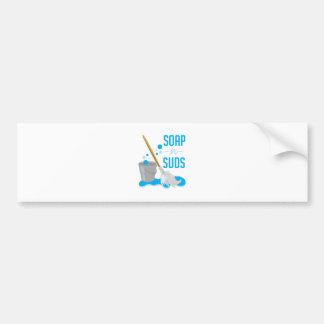 Soap N Suds Bumper Sticker
