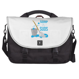 Soap N Suds Laptop Commuter Bag