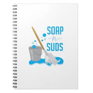 Soap N Suds Note Books