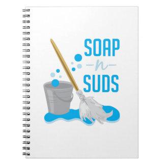 Soap N Suds Spiral Notebook