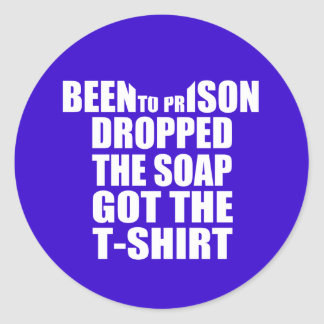 Soap On A Rope Classic Round Sticker