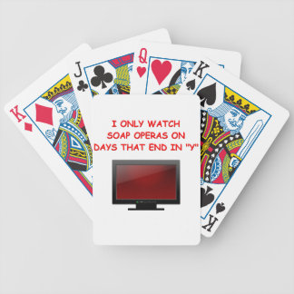 soap operas bicycle playing cards