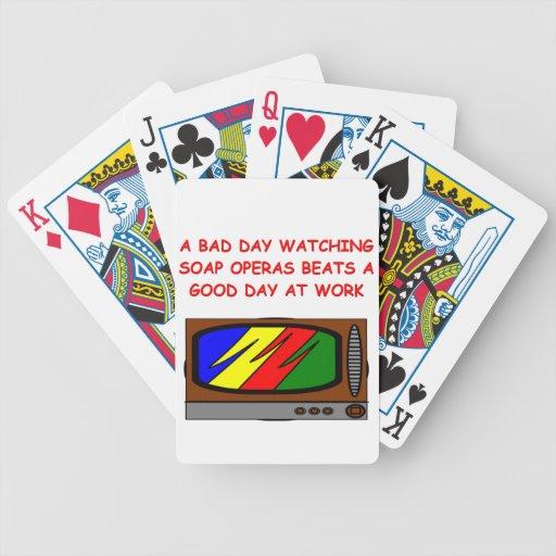 soap operas card decks