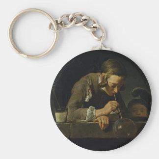 Soap Wind By Chardin Jean-Baptiste Siméon (Best Qu Keychains