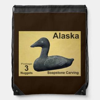 Soapstone Eider Drawstring Bag