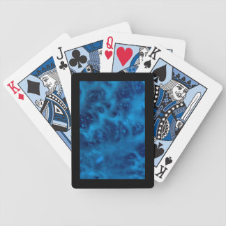 Soapy Clean Blue Poker Deck of Cards