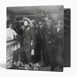 Soapy Smith's Saloon Bar 3 Ring Binder