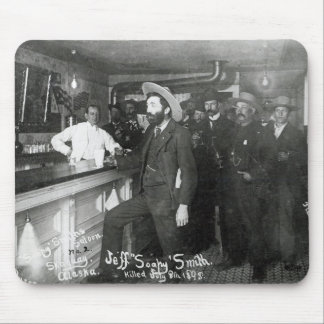 Soapy Smith's Saloon Bar Mouse Pad