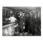 Soapy Smith's Saloon Bar Post Card
