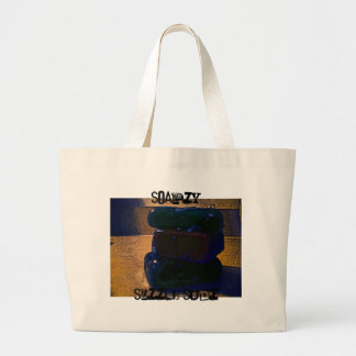 Soapzy Sizzle Sudz Collection Large Tote Bag