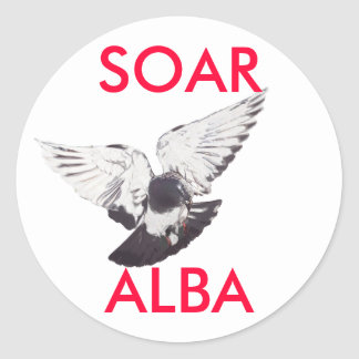 Soar Alba Scottish Independence Pigeon Sticker