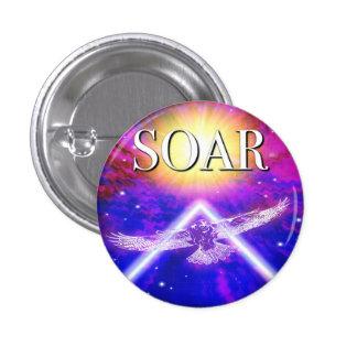 Soar album cover pinback button