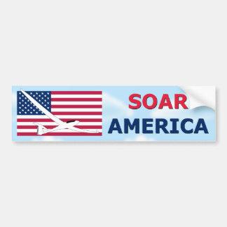 SOAR AMERICA BUMPER STICKER