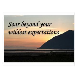 Soar beyond your wildest expectations: Alaska Postcard