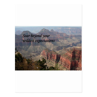 Soar beyond your wildest expectations,Grand Canyon Postcard