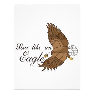 Soar Like an Eagle Letterhead