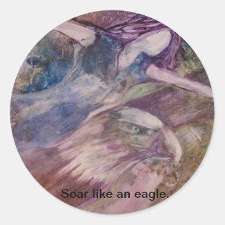 """""""Soar Like An Eagle"""" Sticker"""
