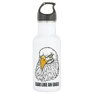 Soar Like an Eagle Water Bottle