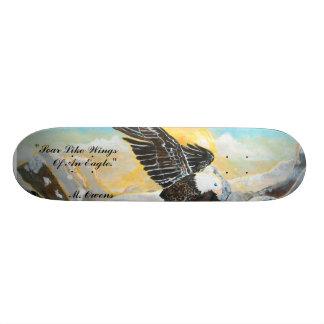 """""""Soar Like Wings Of An Eagle"""" 8½"""" Skateboard"""