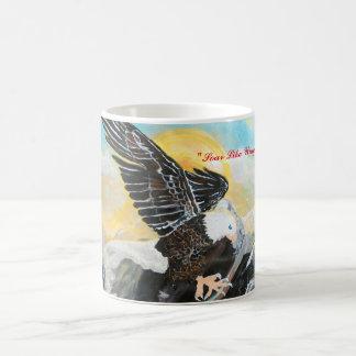 """""""Soar Like Wings Of An Eagle."""" Coffee Mug"""