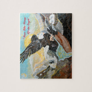 """""""Soar Like Wings Of An Eagle."""" Puzzle"""