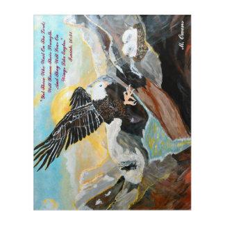 """""""Soar Like Wings On An Eagle"""" Acrylic Wall Art"""